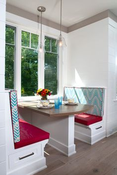 Eclectic Fusion - contemporary - Dining Room - Grand Rapids - Mike Schaap Builders