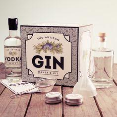 The Artisan Gin Maker's Kit from Firebox.com