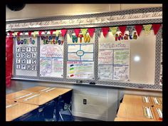 Clutter-Free Classroom: Designated Chart Spaces {INSPIRED}