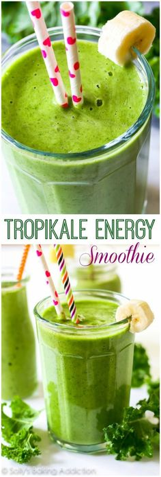 A simple 4 ingredient, incredibly thick green smoothie filled with healthy produce and leaving you energized. And it actually tastes good. http://eatdojo.com/extreme-healthy-shakes-lose-weight-yummy/