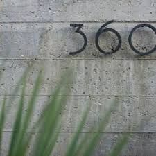 Image result for modern house numbers and letters