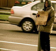homeless. :/
