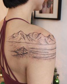 jess chen tattoo - @__jesschen__ Cute Tattoos, Body Art Tattoos, Tattoo Drawings, Sleeve Tattoos, Tatoos, Tattoo Shop, I Tattoo, Howl's Moving Castle Tattoo, Snow Flake Tattoo