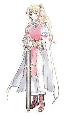 Just pretty art The Legend Of Zelda, Legend Of Zelda Breath, Princesa Zelda, Character Art, Character Design, Botw Zelda, Nintendo Characters, Arte Disney, Link Zelda