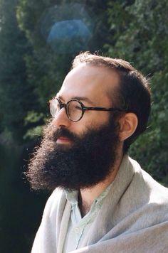 Pondering beard