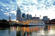 Take a ride along the Cumberland River on the General Jackson Showboat in Nashville