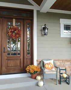We love how @farmhouseredefined has decorated her front door for fall with an assortment of pumpkins, flowers and our Watercolor Painted Pumpkin Pillow. Show us how you are decorating your front door on Instagram tagged with #MyPotteryBarn for a chance to win a $100 PB gift card! (Winner will be randomly selected on 10/31)