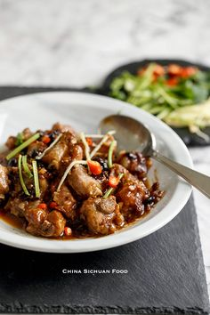 Steamed Ribs With Fermented Black Beans (豉汁排骨) | China Sichuan Food