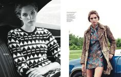 Morning: Kelsey Van Mook By Andrew Stinson For L'officiel Mexico October 2014
