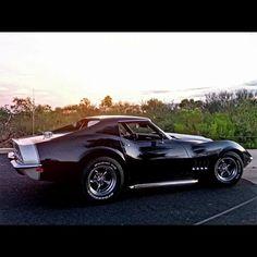 Sleek Corvette cool.
