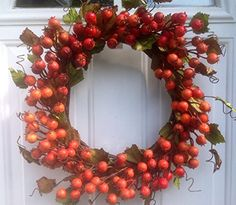 Mini Pomegranate Fall Door Wreath In Rust Wreaths For Door http://www.amazon.com/dp/B00MENK3NK/ref=cm_sw_r_pi_dp_GUp6tb1H7T7F6