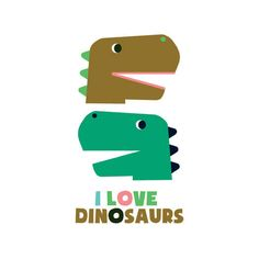 Tattoo I love Dinosaurs