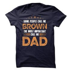 BROWN DAD T-Shirts, Hoodies. Check Price Now ==► https://www.sunfrog.com/St-Patricks/BROWN-DAD.html?41382