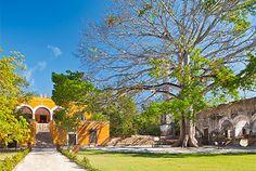 Lujosa Hacienda hotel localizada a 40 minutos de la ciudad de Campeche en México