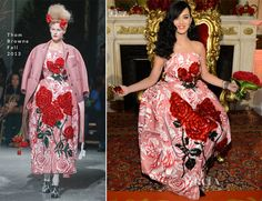 Katy Perry In Thom Browne – 'Killer Queen' Fragrance Launch