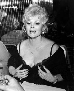 Zsa Zsa Gabor 150 Funny Women - Past And Present