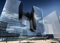 Opus Office tower, Dubai - Zaha Hadid Architects