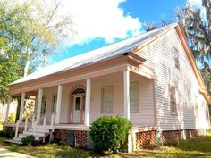"""For sale: $99,000. Cuthbert House - Circa (1840); Classic revival, built by John A. Cuthbert, a prominent local leader who helped to found the Masonic Lodge in mid 1830's and was active in local political resolutions calling for the establishment of a state government. Heart of pine flooring"""" beautifully preserved"""" & protected by carpet can be revealed for gleaming vintage beauty if desired. Impressive fantail light transom over front entry leads the way into the central foyer with rooms…"""