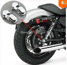 19.71$  Watch now - http://alis2o.shopchina.info/go.php?t=32632161122 - 2PCS Chrome Rear Axle Kit Cover Fits For Harley Davidson Sportster Roadster 1200XL 883 Forty-Eight Seventy-Two 2005-2014 19.71$ #magazineonlinebeautiful