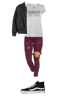 """""""Untitled #44"""" by e-templeman ❤ liked on Polyvore featuring Blake Seven and Vans"""