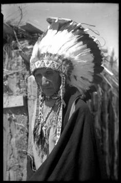 Chief Garfield, Jicarilla Apache, New Mexico :: Palace of the Governors Photo Archives, T. Harmon Parkhurst Collection