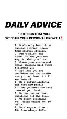 tips. Like You, Wealth, Improve Yourself, Acting, Happiness, Success, Advice, Motivation, Learning