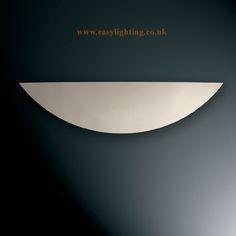 Paintable Plaster Wall Uplighter Light