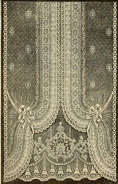 Printable - Edwardian Lace Curtain