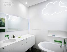 Cuarto de baño para niños, decoración infantil #ideasdedecoración #decoracionniños #decoracioninfantil