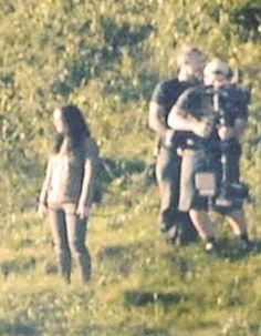 Jennifer Lawrence On Set Of Mocking Jay! / Hunger Games / Katniss