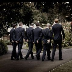 Cheeky grooms/men pose :p