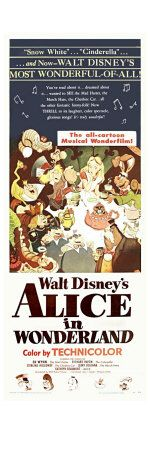 Aww.. Alice in Wonderland, a classic fave of mine. I even liked the Johnny Depp version!