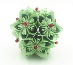 Origami Flower Ball by qiaojiang on Etsy