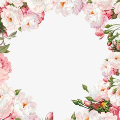 Hand painted flower frame material PNG and Clipart Flower Frame, Flower Boxes, Flower Art, Flower Border Png, Floral Border, Decoupage Vintage, Vintage Diy, Flower Backgrounds, Wallpaper Backgrounds