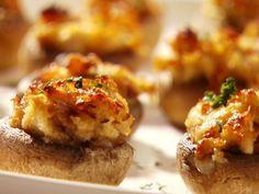 Stuffed Mushrooms recipe from Sandra Lee via Food Network