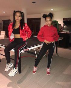 Ideas Fashion Outfits Teenage Baddie For 2019 Malu Trevejo Outfits, Twin Outfits, Dope Outfits, Urban Outfits, Trendy Outfits, Summer Outfits, Girl Outfits, Fashion Outfits, School Outfits