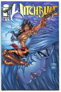 Cover for Witchblade (Splitter, 1996 series) Comic Movies, Comic Book Characters, Comic Character, Comic Book Artists, Comic Artist, Comic Books Art, Michael Turner, Architecture Tattoo, Image Comics