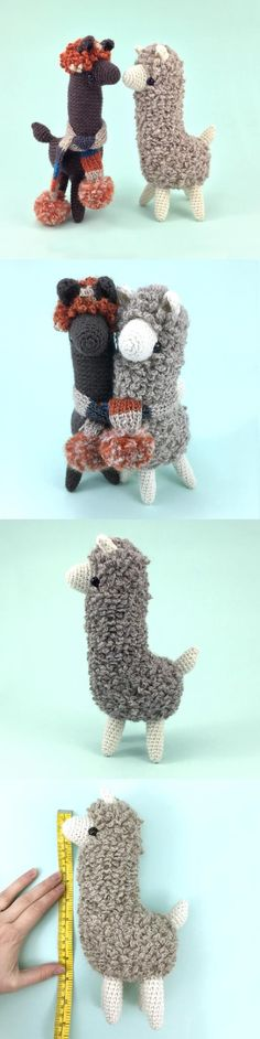 Ludwig The Llama Amigurumi Pattern