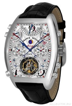 Franck Muller 36 complications, 25 of them visible, 1,483 components, a 1000-year calendar, a price tag of 2.7 million dollars, and 5 years' work; 99 jewels