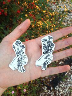 lemaddyart: Hand drawn badges - Maddy younf