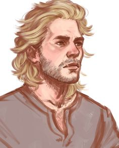 """awesomefarfel:  stonelions:  Dorian in the distance: """"Get a haircut! You look like the man on the cover of one of Cassandra's tawdry romances!"""" Cassandra out the forge window: """"He does NOT! He's much too skinny and pale."""" Cullen: …  perfect cullen is perfect. Those eyes …"""