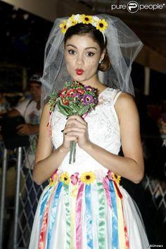 noiva vestido fazer junina - Pesquisa Google