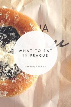 What to eat in Prague – dumplings, cakes and hearty Czech food!
