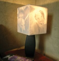 Light Up Your Family Memories with a Photo Lamp Shade [Weekend DIY Project]