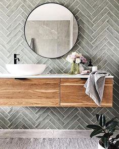 Bad Inspiration, Bathroom Inspiration, Wedding Inspiration, Wedding Ideas, Bathroom Interior Design, Diy Interior, Interior Modern, Design Bedroom, Midcentury Modern