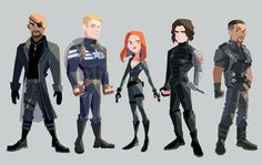 Winter Soldier art by Sodam
