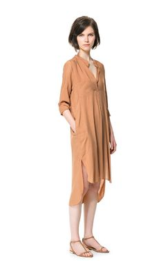 Just got this gorgeous tunic today and I love it. -- Image 1 of LONG ASYMMETRIC TUNIC from Zara