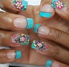 Manicure Y Pedicure, Manicure At Home, Manicure Natural, Men's Grooming, Nail Art, Nails, Nail Salon Decor, Toe Nail Art, Short Nail Manicure