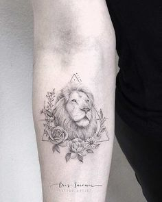 Lion Tattoo by Criz Suconic