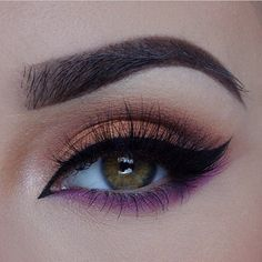 Love the sculpting of the brow, and the blended highlighting  around the brow-bone and the color of the shadows are just exquisite.